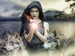 la mujer salvaje